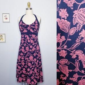 Patagonia floral halter dress